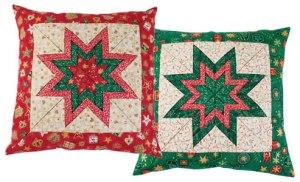 (Christmas) Folded Star Pillow
